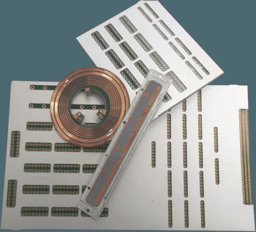 Aluminium backed PCB for heatsink reasons
